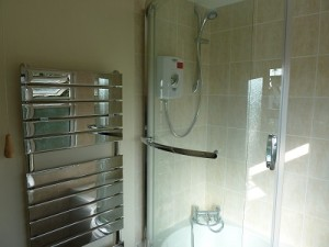 New bathroom - Shower and shower screen